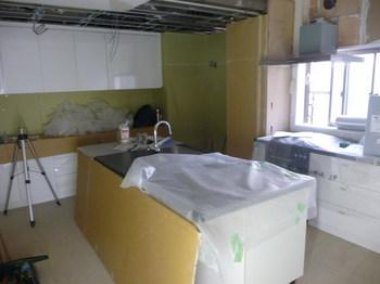 キッチン 施工