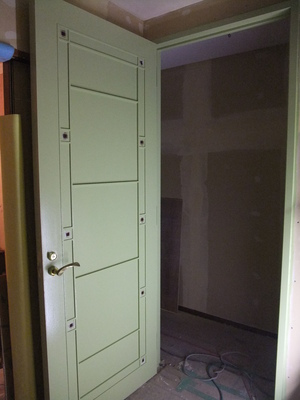 再利用ドア 塗り替え後