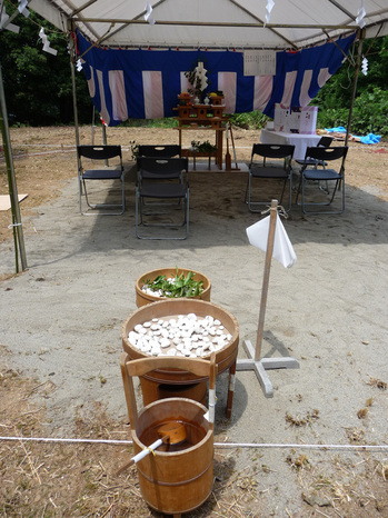 villa-venere地鎮祭-祭殿.JPG