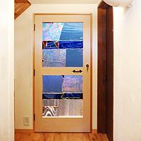 室内框ドア:ステンドグラス