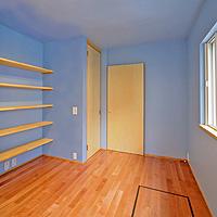 ブルー:塗り壁