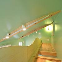グリーン:塗り壁
