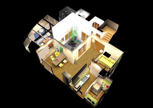 住宅CG提案 自由設計