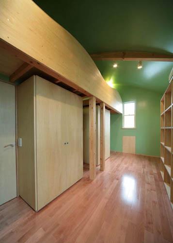 ロフトの子供部屋