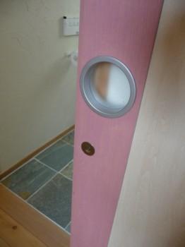 2階トイレドア