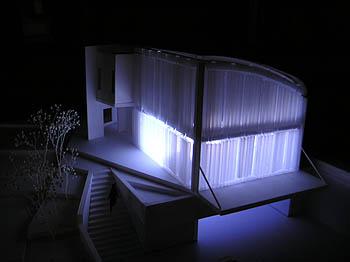 プレゼン模型(夜のイメージ)