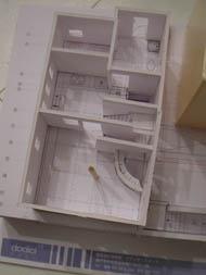 模型1階部分