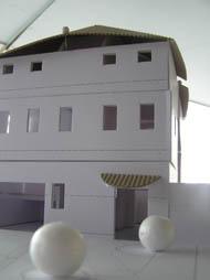 模型・建物の正面