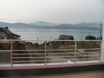 天橋立・デッキからの風景