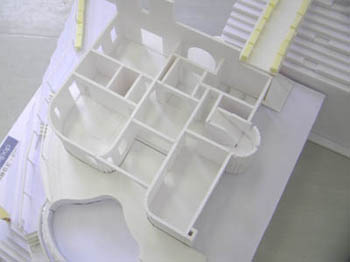 プールの模型