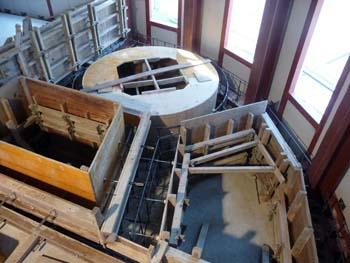 浴槽コンクリート型枠