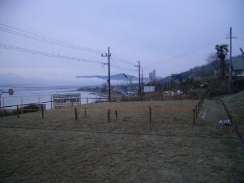 冬景色の現地