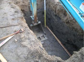 浄化槽設置用床堀