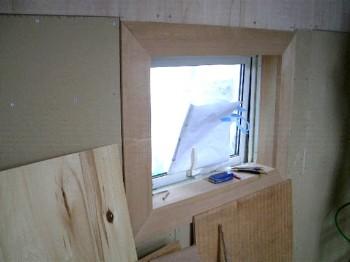 内部窓廻り化粧枠