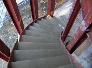 階段部分コンクリート打設.JPG